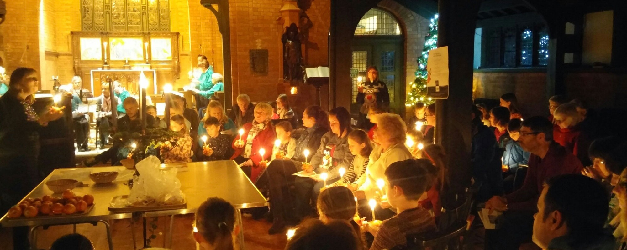 Christingle Service*Supporting the work of The Children's Society*